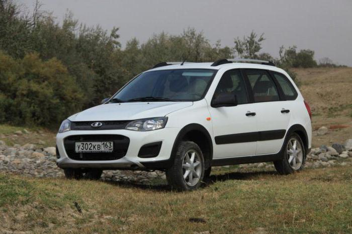 Specifications Lada Kalina Cross