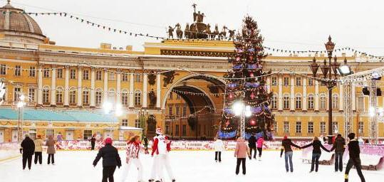 New Year's holidays in Russia