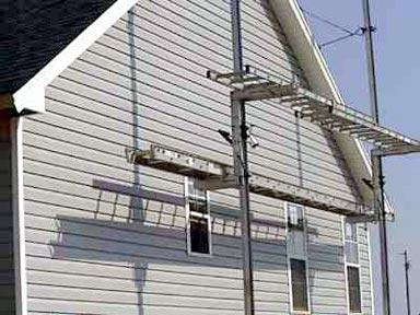 Calculating the siding at home