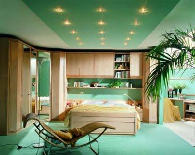 suspended ceilings from gypsum cardboard photo