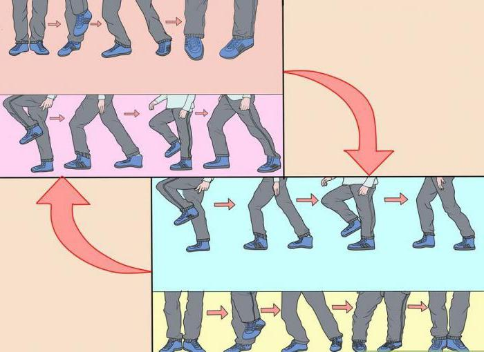 how to learn to dance shuffle movements