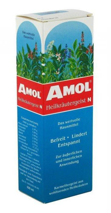 tincture amol instructions for use